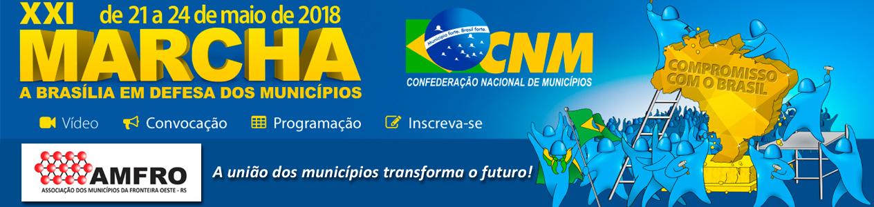 banner 2018 - XXI marcha brasilia