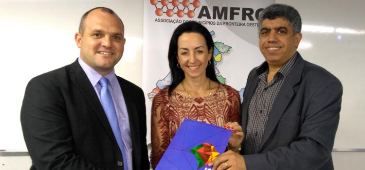 Prefeito de São Borja, Eduardo Bonotto, é o novo presidente da AMFRO