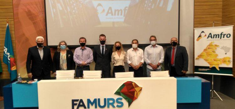 Prefeito Ronnie é eleito presidente da AMFRO –  2021/22