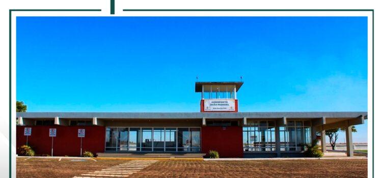AEROPORTO JOÃO MANOEL DE SÃO BORJA IRÁ RETOMAR VOOS PARA PORTO ALEGRE⠀